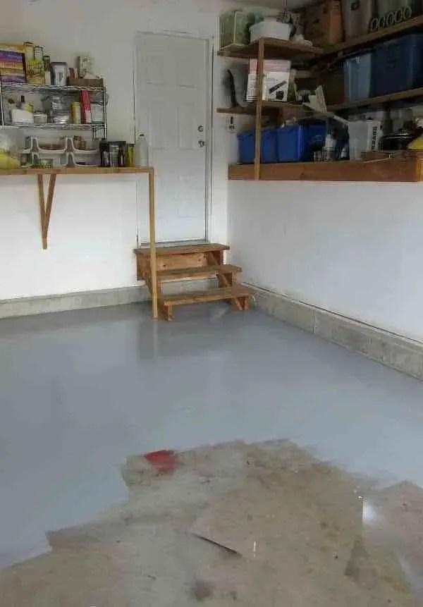 7 trucos prcticos para pintar el suelo del garaje y