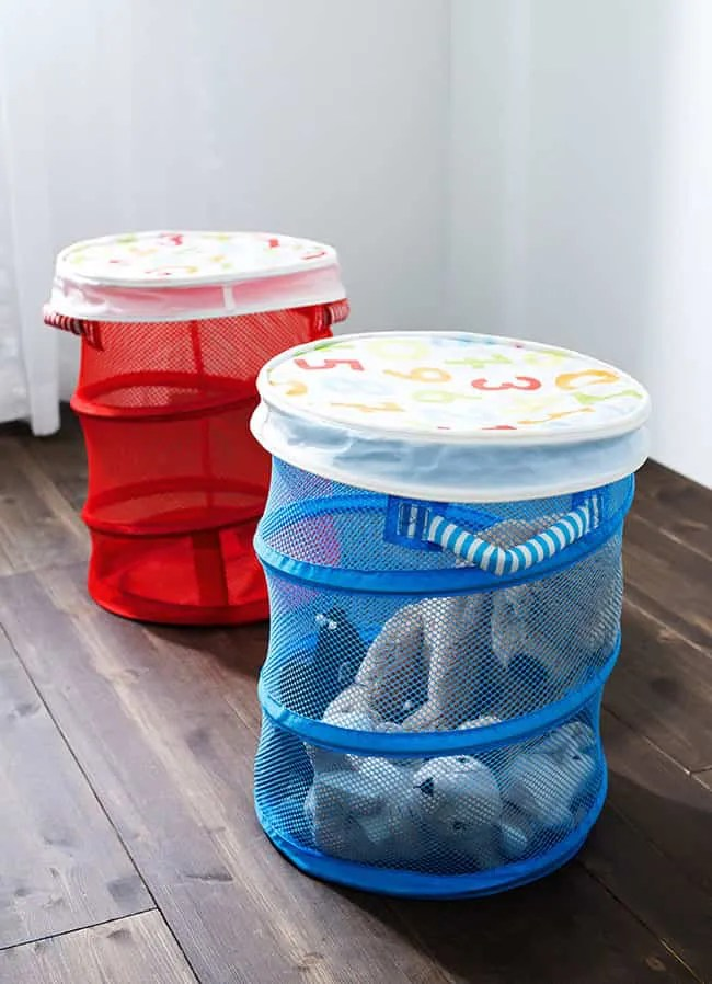 Ideas geniales para guardar los juguetes en el cuarto de