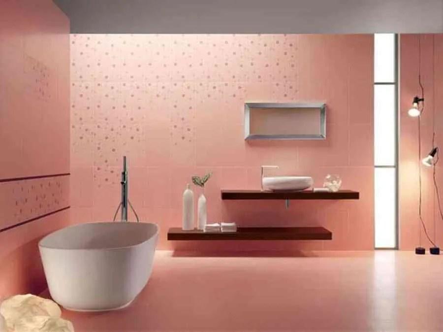 El encanto de tener un cuarto de bao de color rosa