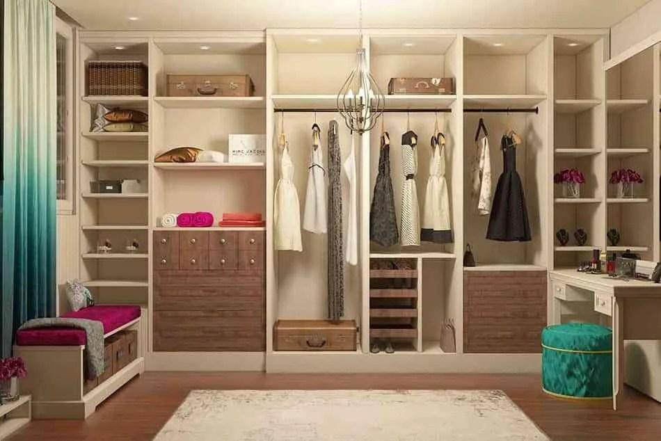 4 ideas geniales y muy prcticas para montar un vestidor
