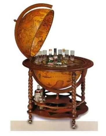 Mueble Bar Globo Terraqueo