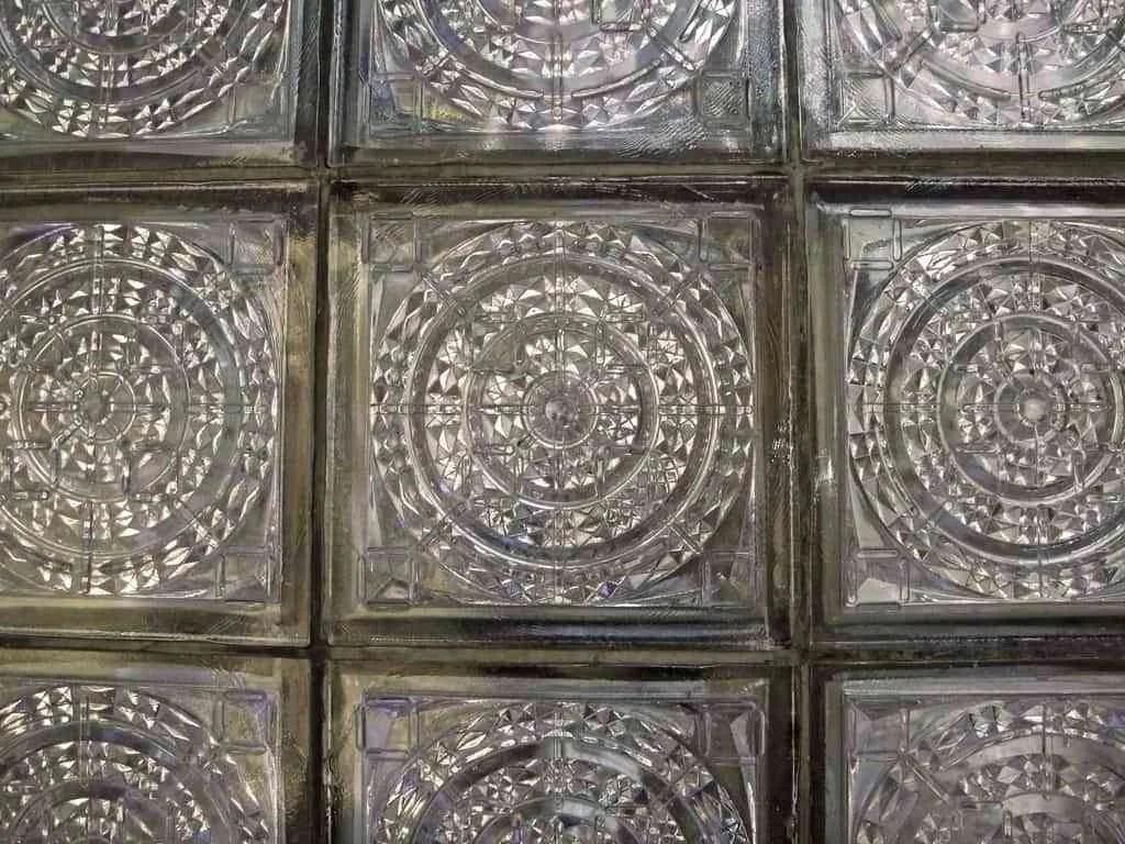 Bloques de vidrio para decorar las paredes