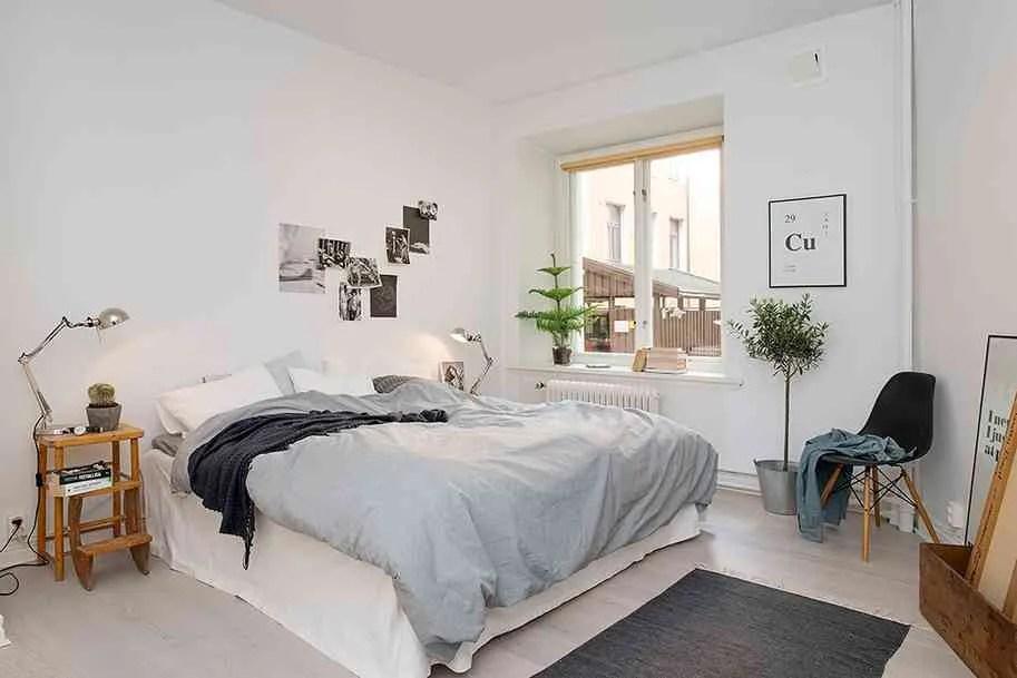 Claves para conseguir un dormitorio de estilo nrdico