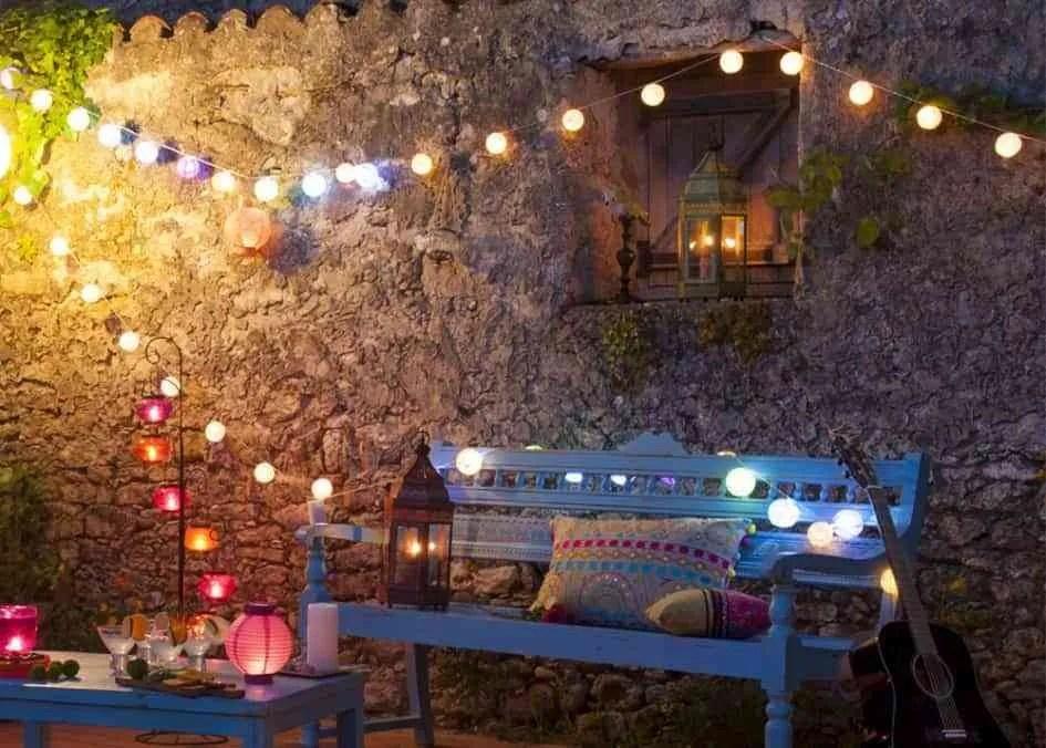 Cmo iluminar la terraza y ambientar tus noches de verano