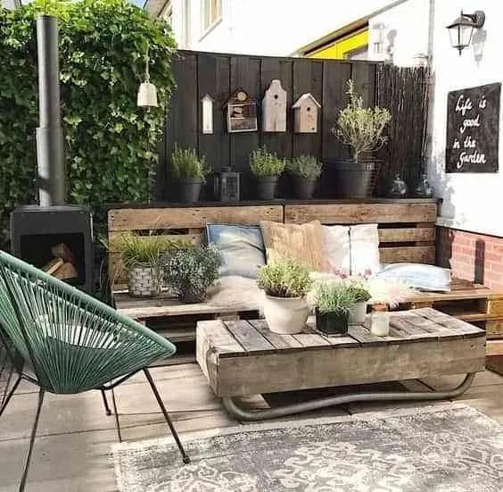 10 ideas para decorar el patio con la llegada del buen tiempo