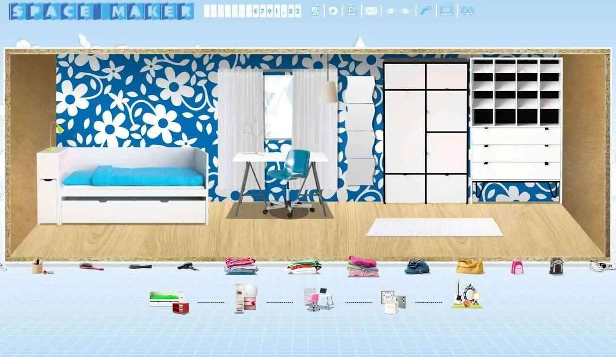 space maker Space Maker, crea tu propia habitación con el simulador de Ikea