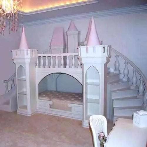 Camas de cuento para las princesas de la casa