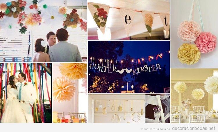 ideas para decorar una boda vintage con y baratita