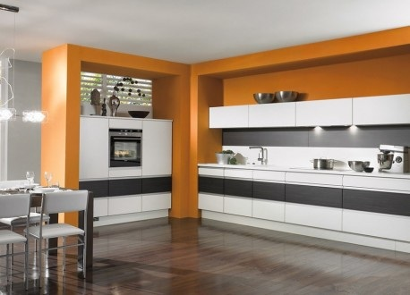 cocina-moderna-color-naranja