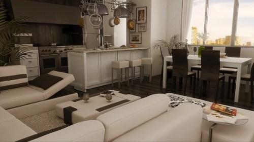 foto sala comedor moderna