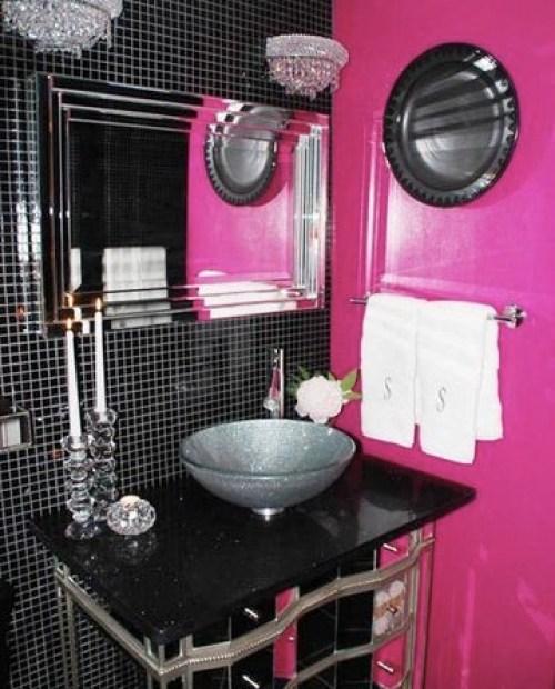 bathroom-fuchsia-black