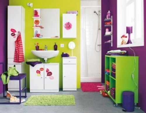 purple-green-bathroom