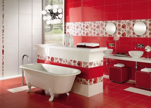 bathroom-red-white