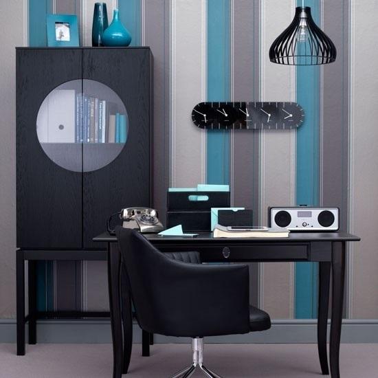 24 dise os de oficinas en varios colores para el hogar for Colores para oficinas pequenas modernas