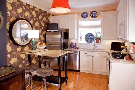 Diseños Sala Comedor Pequeños : Diseños de comedor y cocina juntos para espacios pequeños