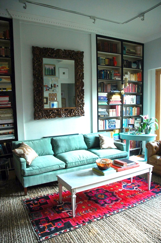 Red Couch Living Room Photos