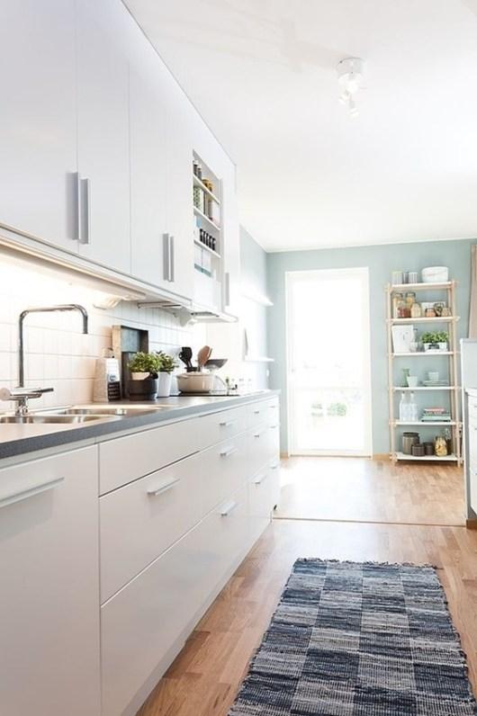 Scandinavian apartment interior decoration