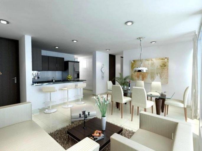 Sala Comedor Cocina Pequeños : Cocina sala y comedor juntos espacio pequeño decoracion de