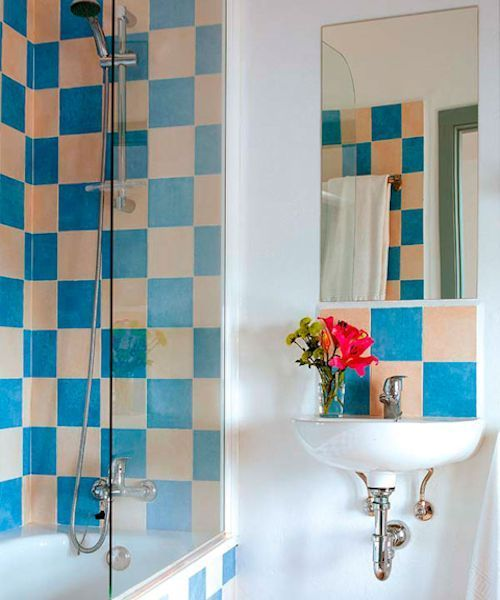 Grandes ideas para que ba os peque os sean bellos y - Azulejos para cuartos de bano pequenos ...