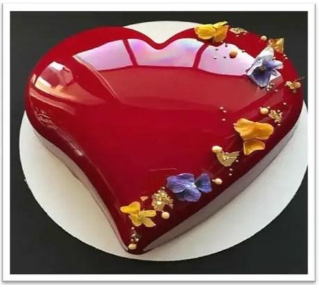 Como Hacer La Torta Tipo Espejo