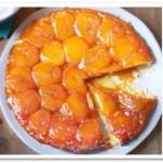 Torta Invertida De Duraznos Al Natural