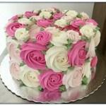 Como Hacer Crema Rosas Para Tortas [Receta y Tecnica]
