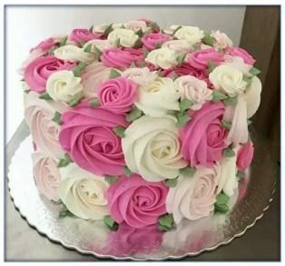 Como Hacer Crema Rosa Para Tortas