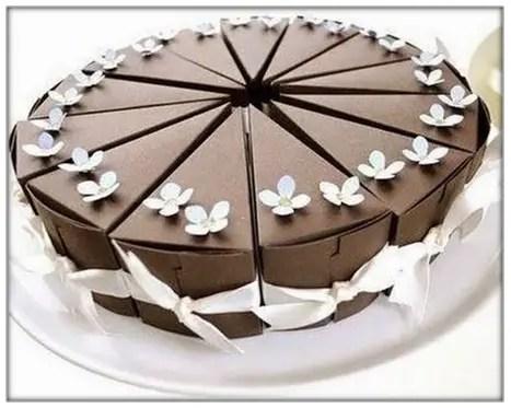 Porciones De Torta
