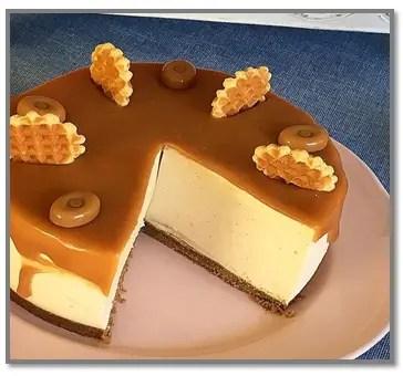 Cheesecake De Dulce De Leche Sin Horno