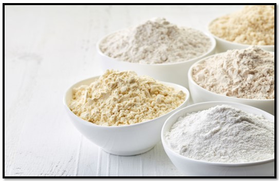 como preparar harina sin gluten
