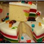 Como Hacer Torta De Gelatina De Colores Paso A Paso
