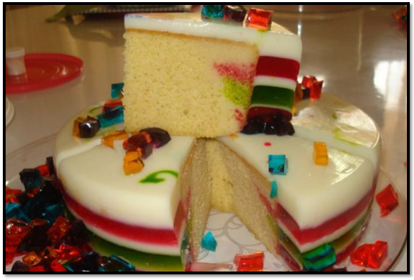 torta de gelatina