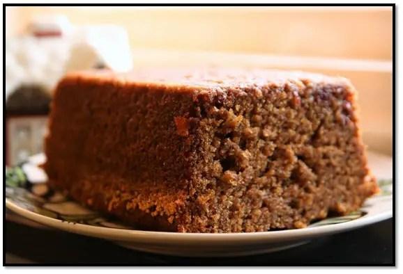 Torta De Banana Y Chocolate
