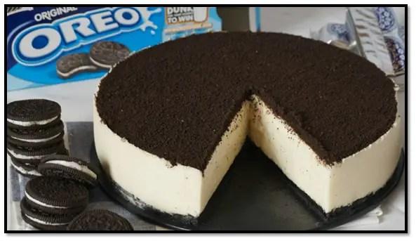 Torta Fría De Galletas Oreo