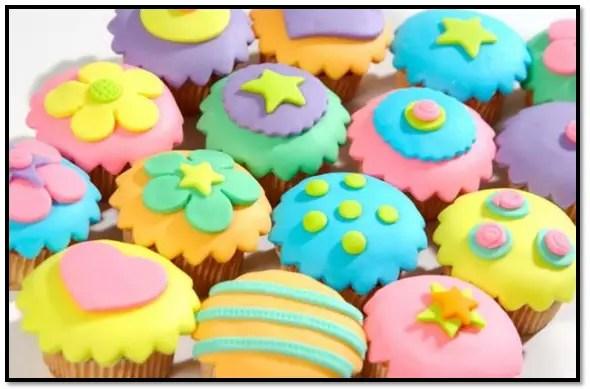 Como Hacer Fondant Para Cupcakes