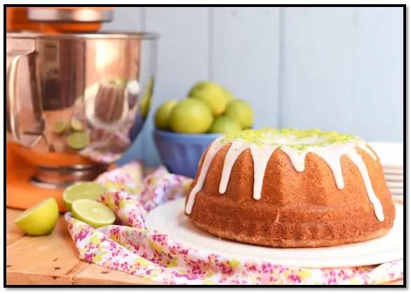 Torta De Limón Esponjosa