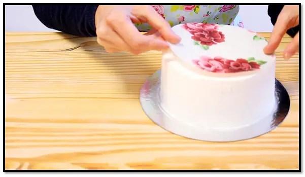 Papel De Azúcar Para Tortas