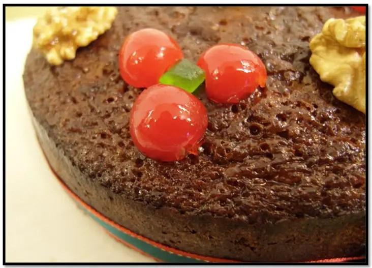torta negra con malta