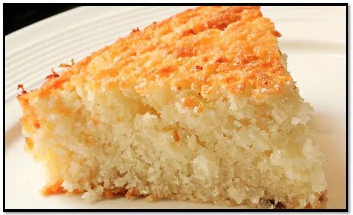 torta mojada de vainilla