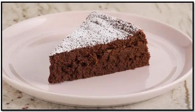 torta de chocolate con mantequilla