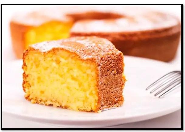 torta de naranja licuada