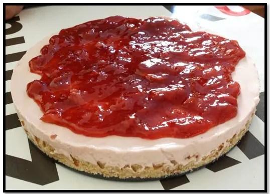 como hacer mermelada de fresa para pastel