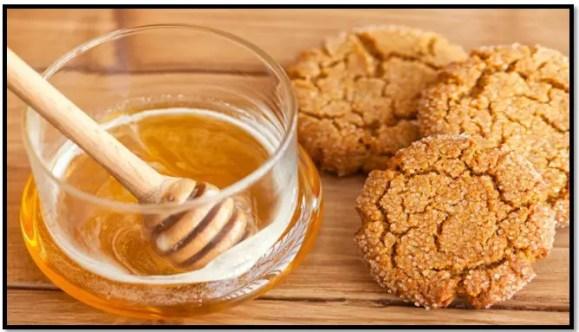 como hacer galletas de miel