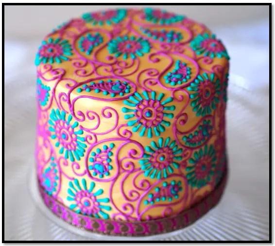 como hacer torta de mandalas