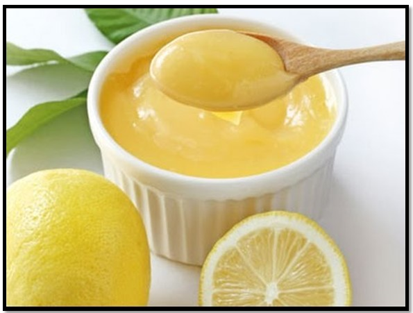 crema de limón para torta