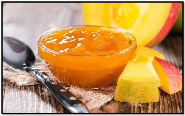 como hacer mermelada de mango