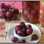 Conserva De Uvas En Almíbar