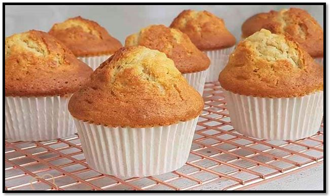 muffins receta básica