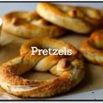Receta De Pretzels Dulces