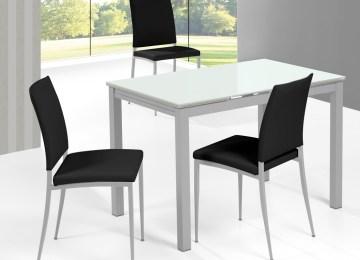 Mesa Para Cocina Moderna Blanca | Mesas De Comedor Redondas Diseño ...